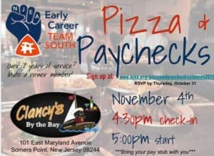 Pizza and Paychecks- Early Career Event
